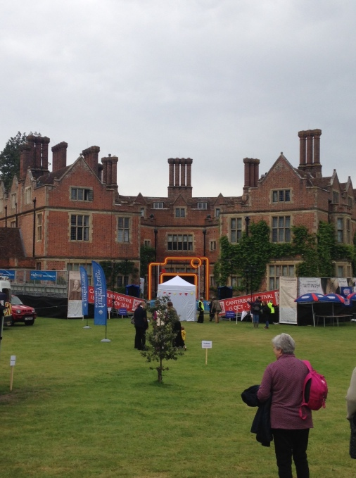 The stage at Chilham Castle