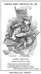 Alfred Austin Cartoon