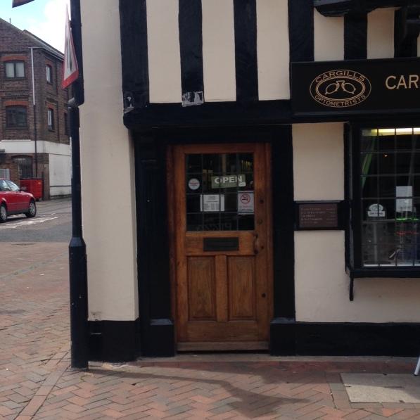 Cargills front door