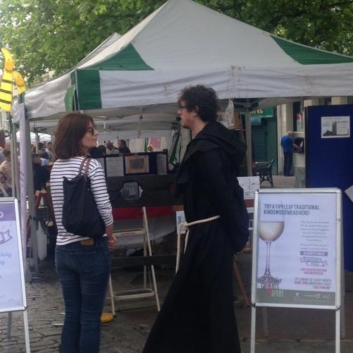 medieval monk farmers market