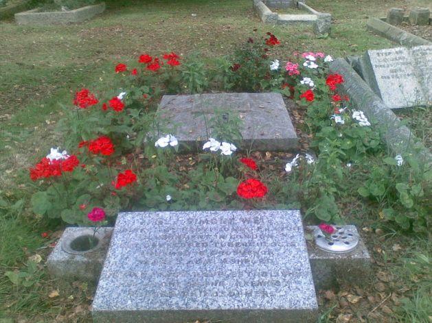 Simone Weil grave