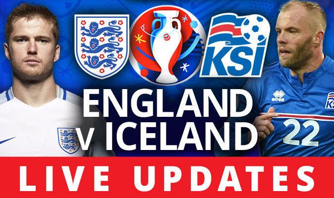 England v Iceland