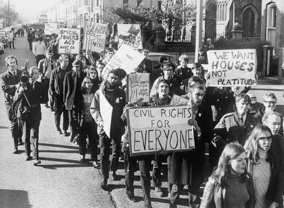 Irish civil unrest