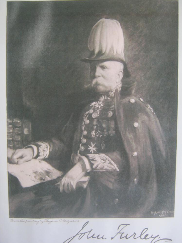 John Furley knighted
