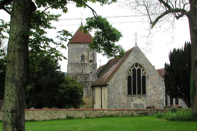 St Lawrences church godmersham