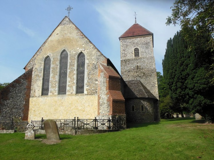 Godmersham bell tower and apse
